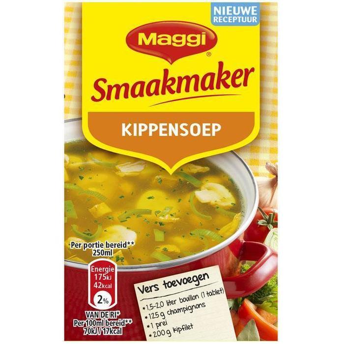 Smaakmaker, Kippensoep (Stuk, 2 × 72g)