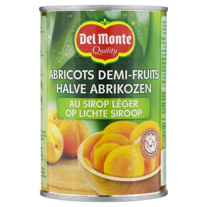 Del Monte Halve abrikozen op lichte siroop (420g)