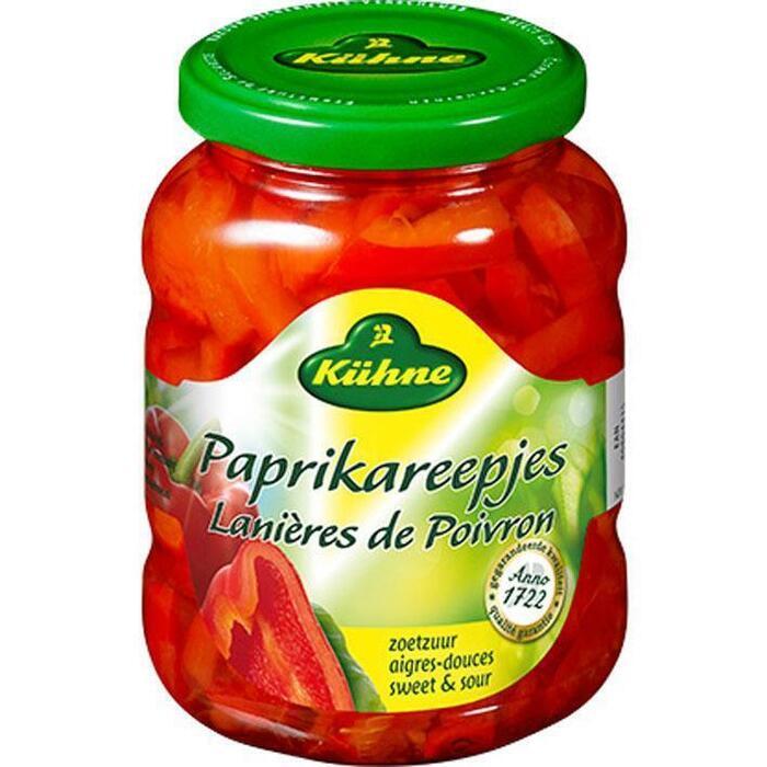 Kühne, Paprikareepjes (pot, 320g)