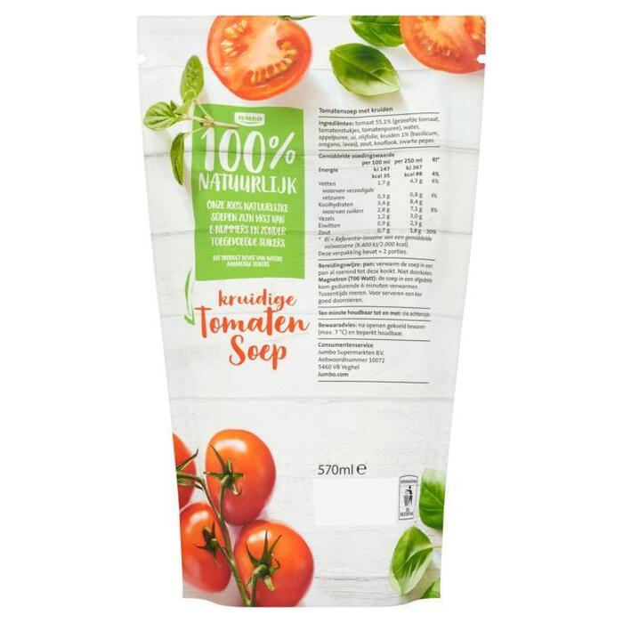 Kruidige Tomatensoep (plastic zak, 0.57L)