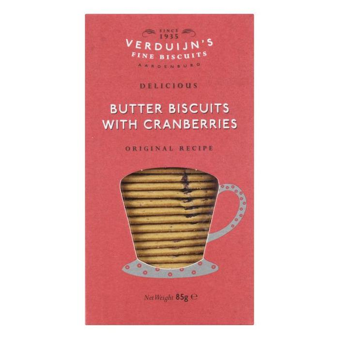 Butter biscuits cranberry (85g)