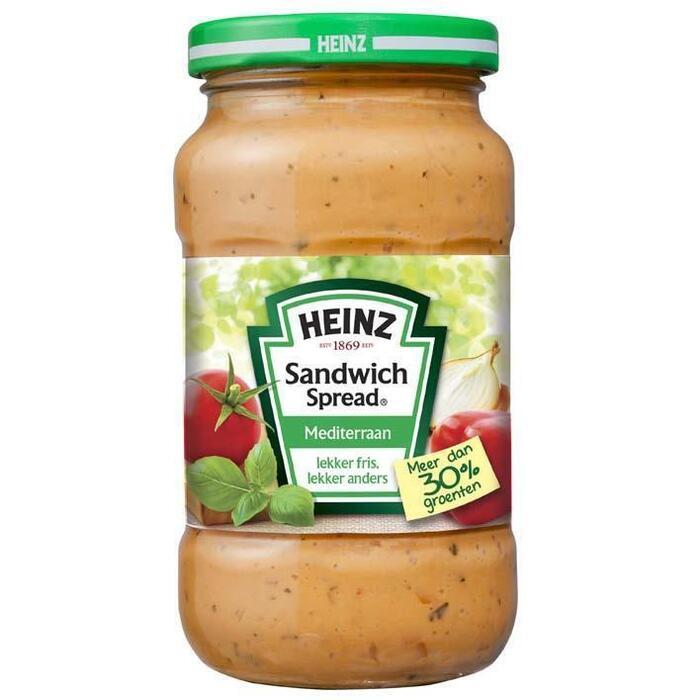 Heinz Sandw Spread Mediteriaan (300g)