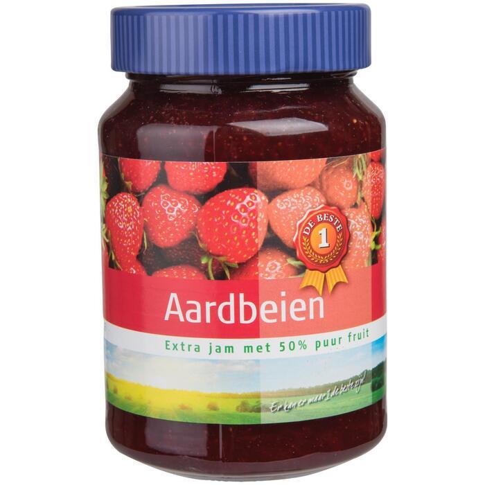 Extra jam aardbei (600g)