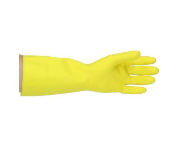 Huishoudhandschoen strong geel small
