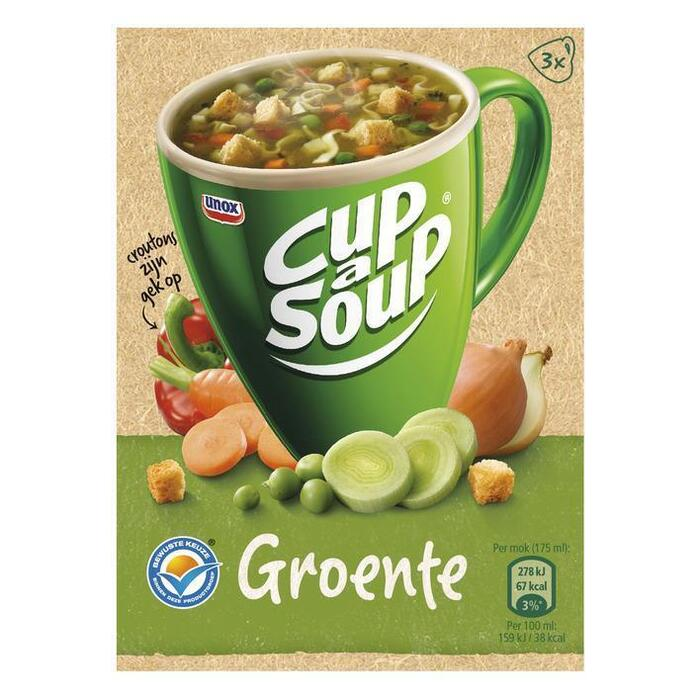 Cup-A- Soup Groente (3 × 16g)