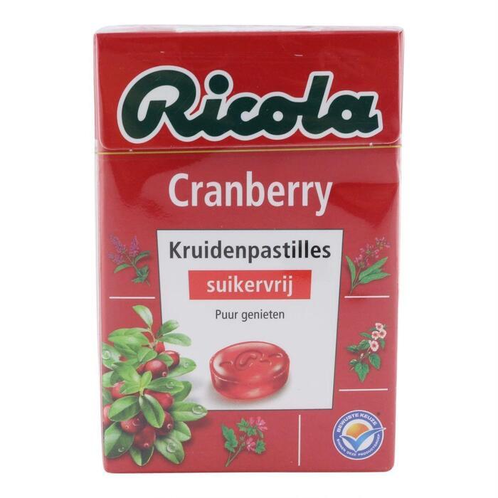Ricola Ricola Cranberry (50g)