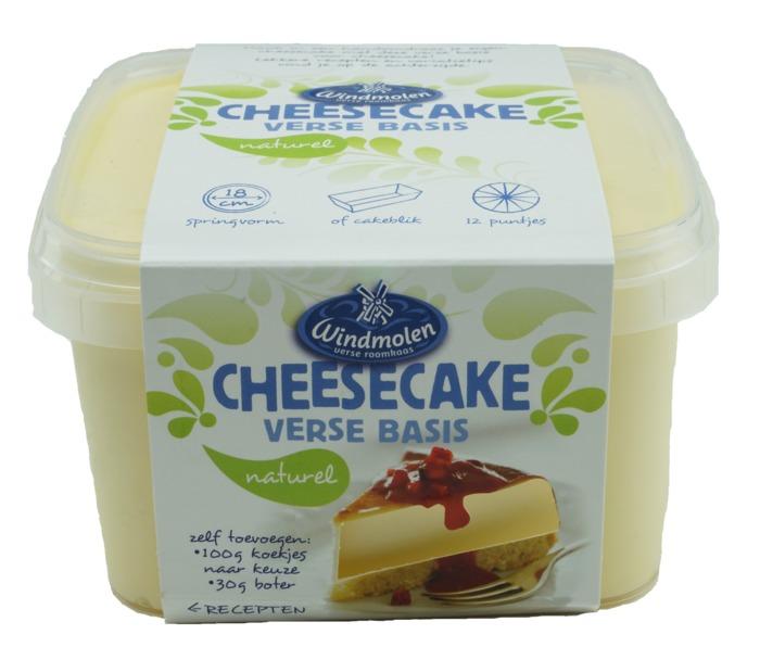 Windmolen Verse basis voor cheesecake (700g)