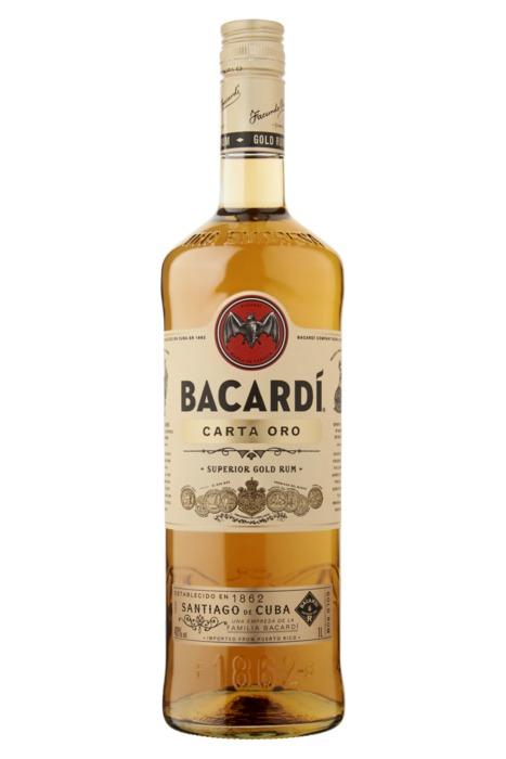 Bacardi Carta Oro 100cl, 40%, á 6 (1L)