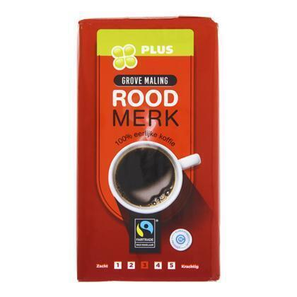Koffie Snelfilter Roodmerk Grovemaling (500g)