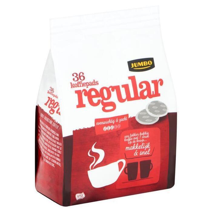 Jumbo Regular 36 Koffiepads 250g (250g)
