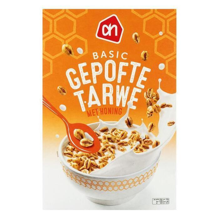 AH BASIC Gepofte tarwe met honing (500g)