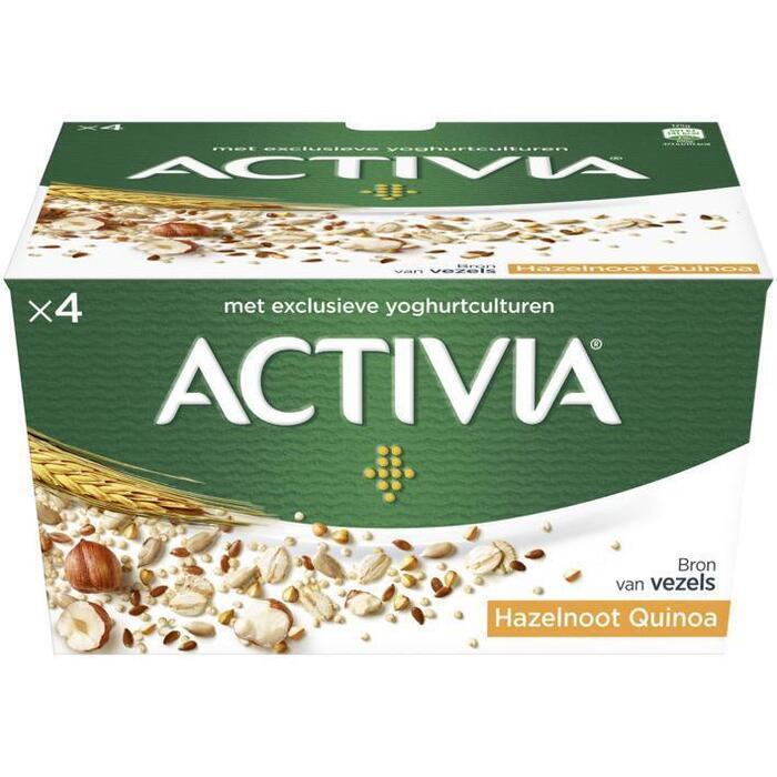 Activia yoghurt hazelnoot quinoa (4 × 500g)