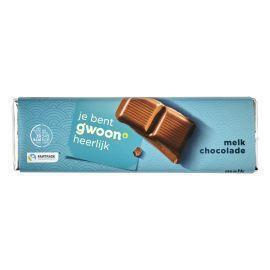 g'woon Chocoladereep melk (100g)