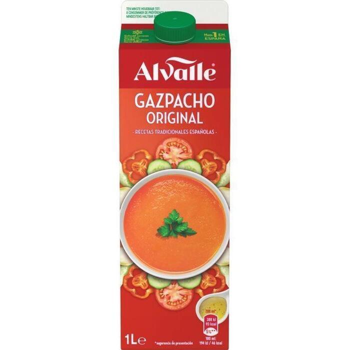 Alvalle Gazpacho Koude Soep Original 1L - Pure Pak (1L)