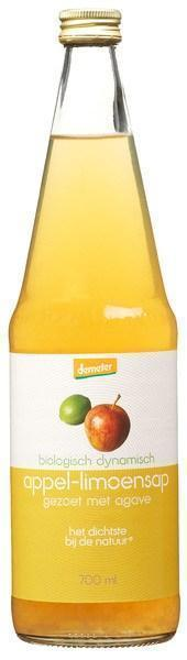 Appel-limoensap (glas, 0.7L)