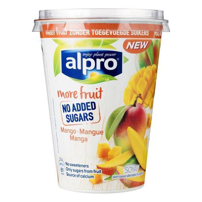 Alpro Mango met meer fruit (400g)