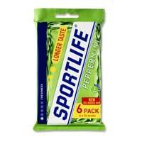Sportlife Peppermint 6x17gr multipack (6 × 108g)