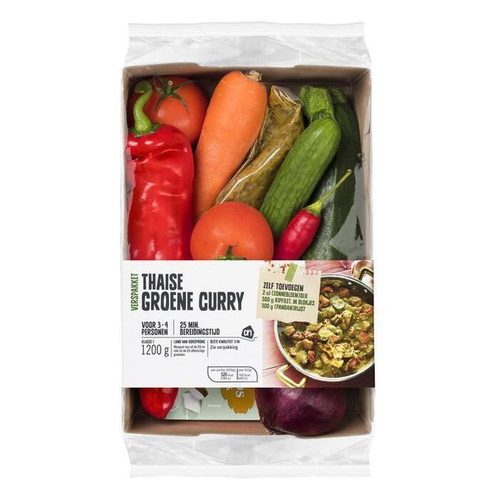 AH Thaise groene curry verspakket (1.2kg)
