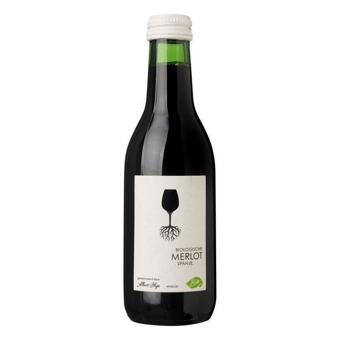 Biologische merlot (flesje, 250ml)