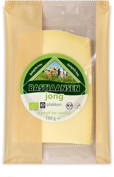 Plakjes jonge kaas (folie, 150g)