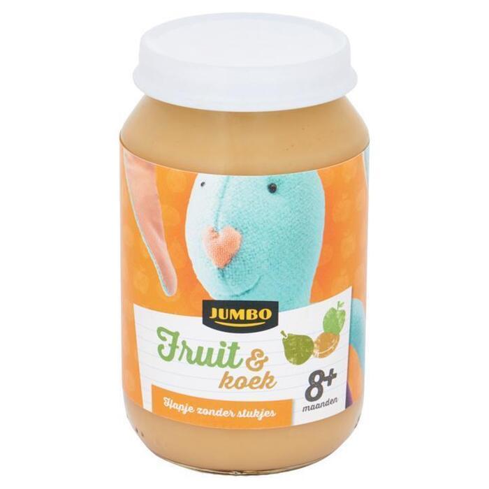 Jumbo Fruit & Koek 8+ Maanden 200g (200g)