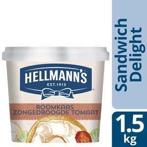 Hellmann's Sandw Roomk Tomaat 1.5Kg 1X (1.5kg)
