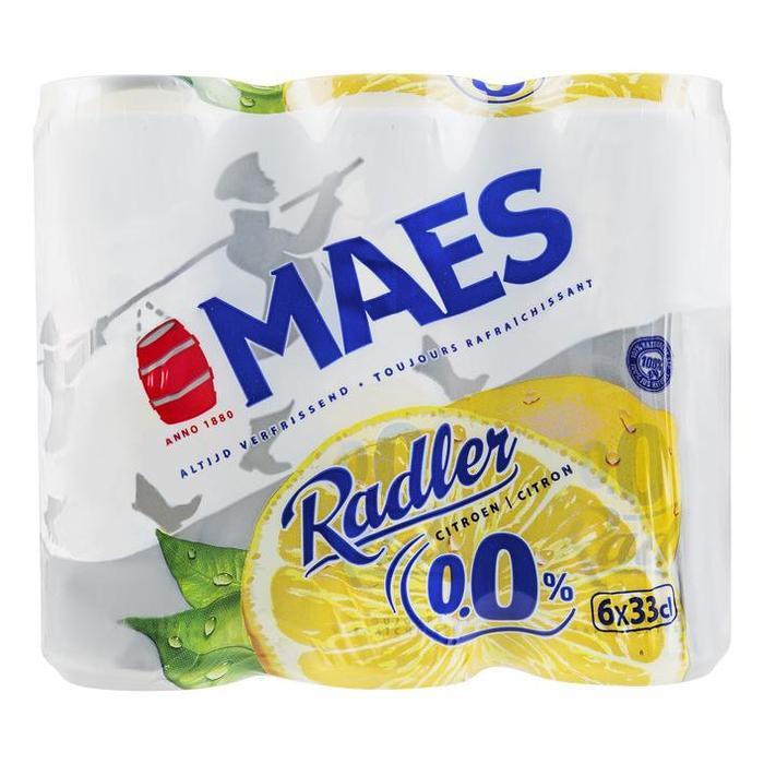 Maes Radler lemon zero 0.0% (6 × 1.98L)