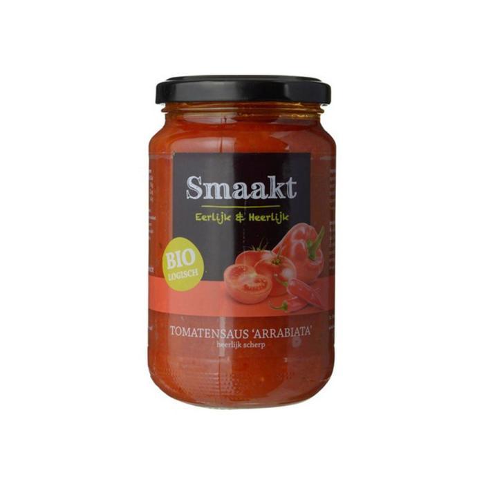 Biologisch Tomatensaus 'Arrabiata' (Stuk, 37cl)