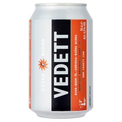 Vedett Blond 33cl (can, 33cl)