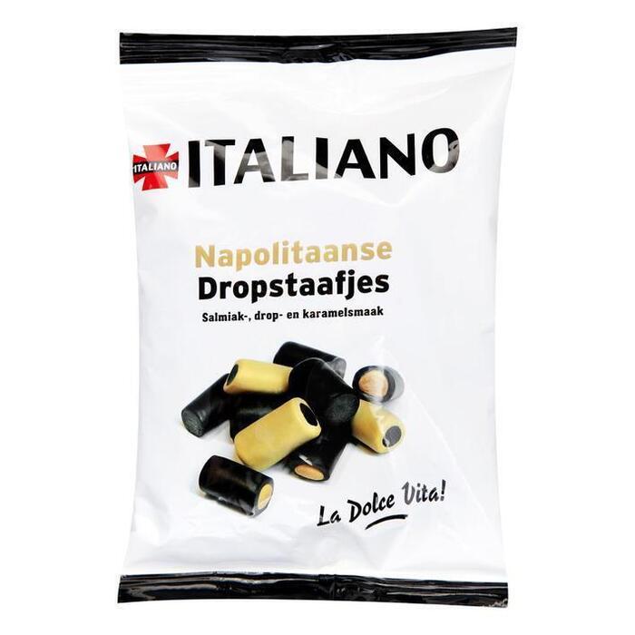 Napolitaanse dropstaafjes (250g)
