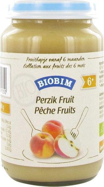 Perzik fruit 6+ maanden (200g)