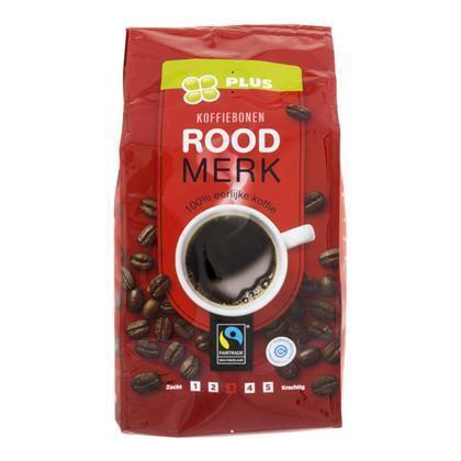 Koffiebonen Roodmerk (500g)