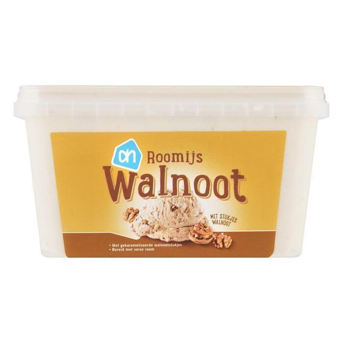 AH Walnoot roomijs (1L)