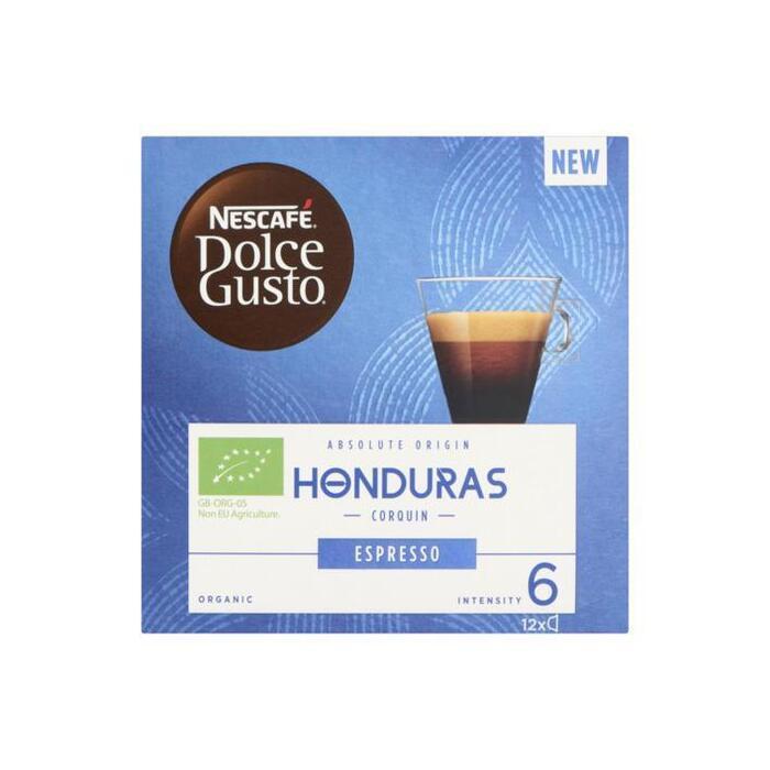 Nescafé Dolce Gusto Honduras Espresso 12 x 6 g (12 × 6g)