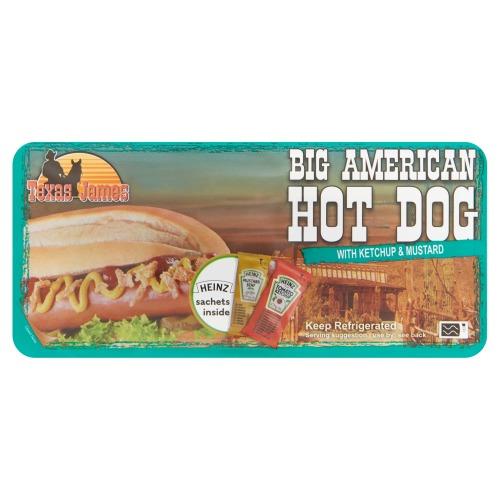 Vleems Food Big American Hotdog 152 g (152g)