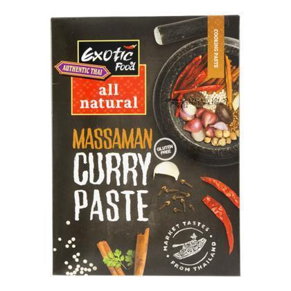 Massaman kruidenpasta all natural (50g)