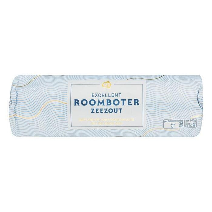 AH Excellent Roomboter zeezout (250g)