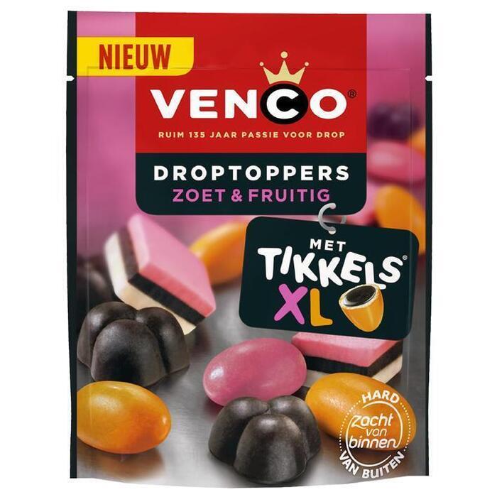 Venco Droptoppers fruitig (255g)