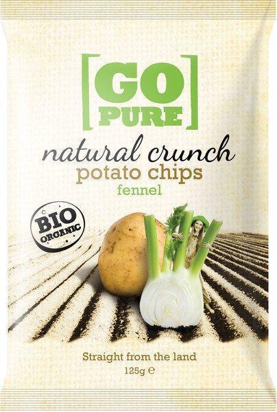 Natural crunch chips fennel (125g)