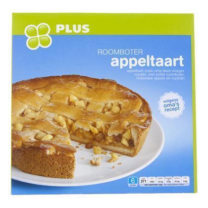 Roomboter appeltaart (750g)