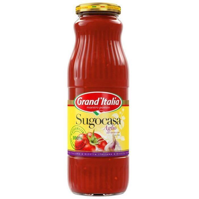 Grand'Italia, Sugocasa tomatensaus cipolla e aglio (Stuk, 690g)