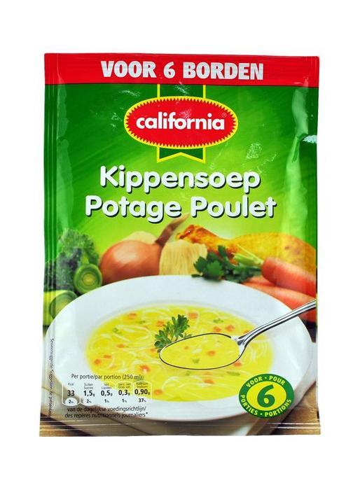 Image result for california kippensoep
