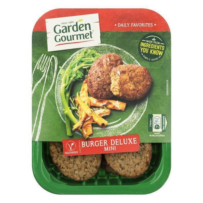 Garden Gourmet Vegetarische burger deluxe (180g)