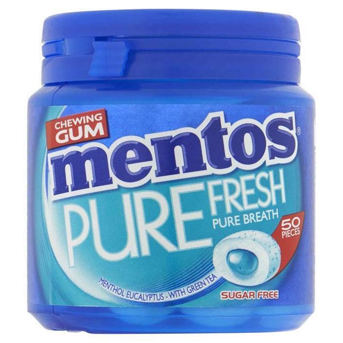 Mentos Gum Pure fresh menthol eucalyptus (100g)