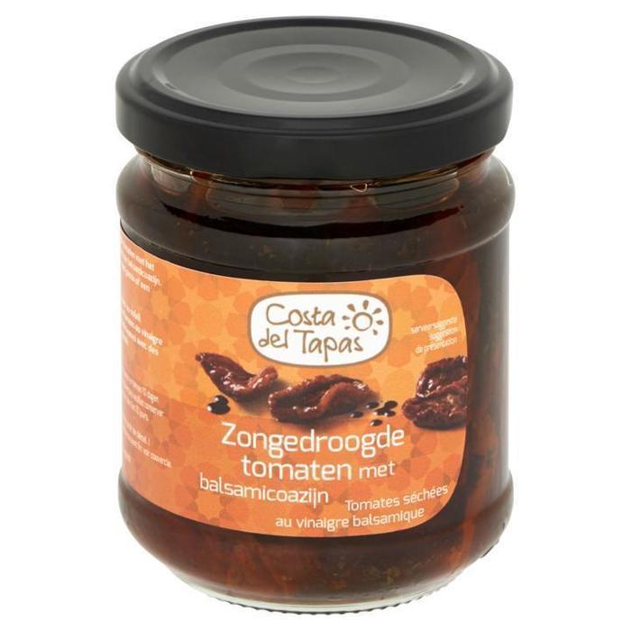 Costa del Tapas Zongedroogde Tomaten met Balsamicoazijn 215g (215g)