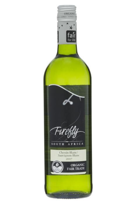 Firefly Chenin blanc/Sauvignon blanc, Bio Fairtrade (glas, 0.75L)