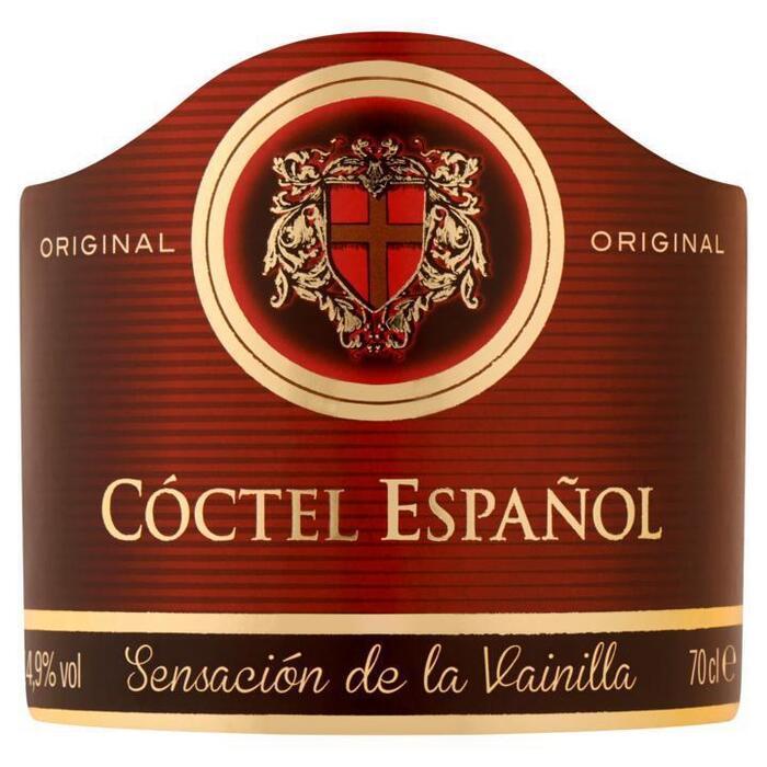 Cóctel Español Sensación de la Vainilla 70cl (rol, 70 × 0.7L)