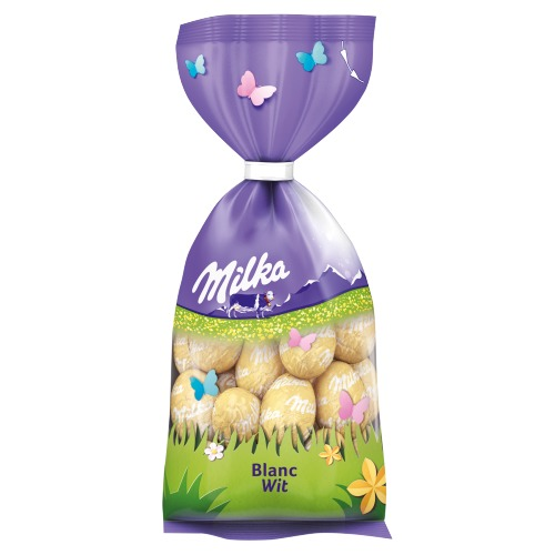 Milka Eitjes wit (100g)