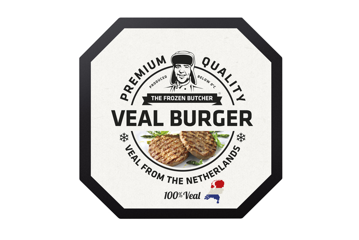 The Frozen Butcher Veal burger (2 × 250g)