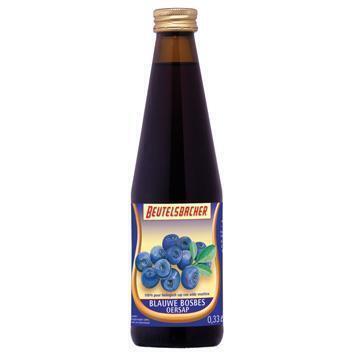 Blauwe Bessen-Oersap (glas, 33cl)